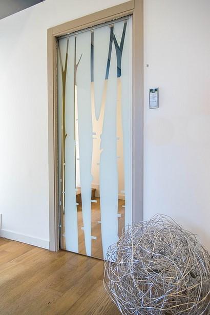 Porte Scorrevoli In Vetro Esterno Muro.Porte Scorrevoli Esterno Muro Idee Per La Casa Lartedinnovare