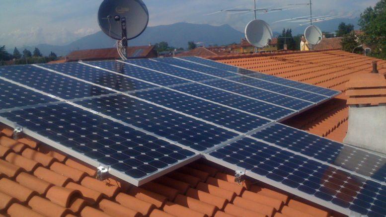 il costo dei pannelli solari per le abitazioni private