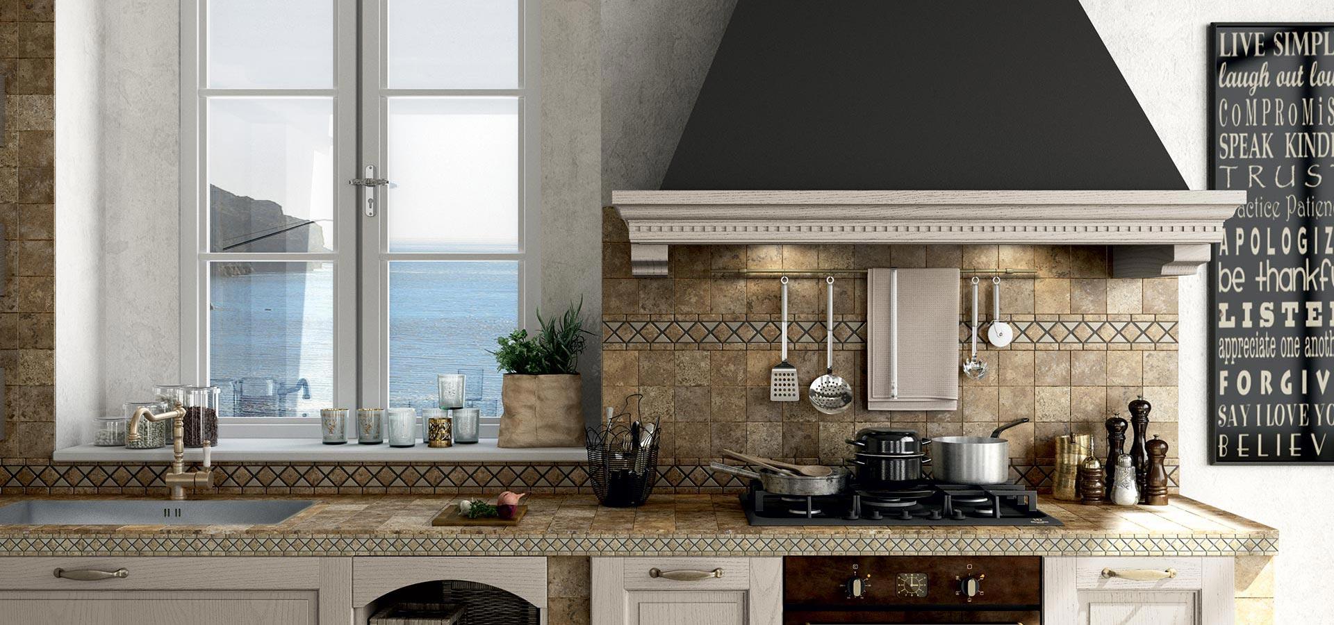 Un grande showroom per le cucine in muratura a Torino ...