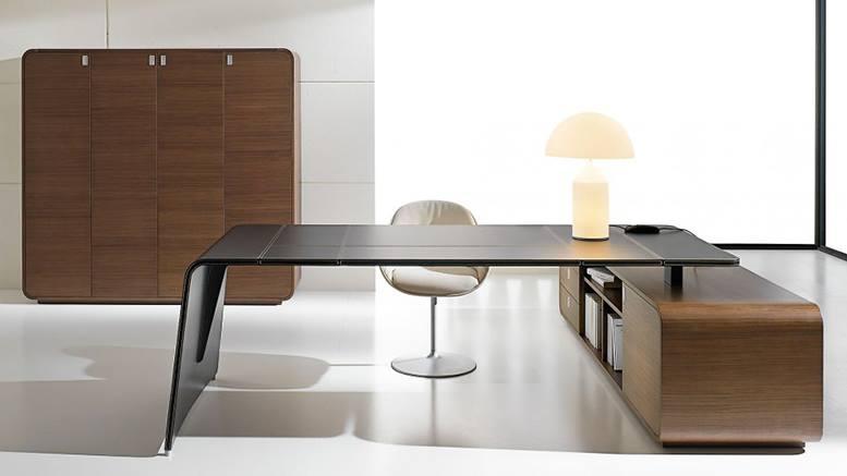 Scrivanie moderne soluzioni di qualit per ambienti for Consolle scrivania moderna