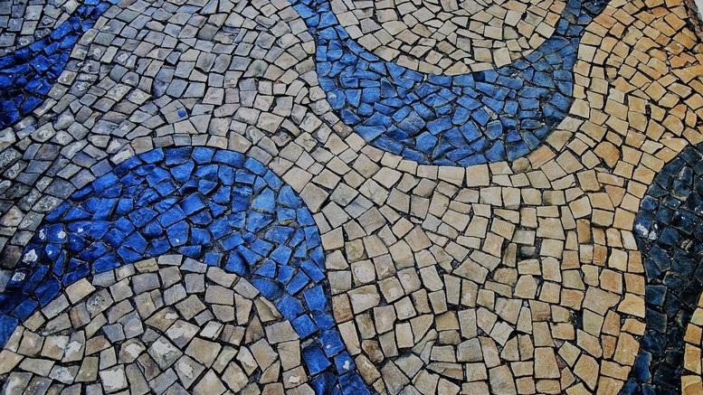 Pavimenti mosaico per esterni mosaico a pavimento in ciottoli di