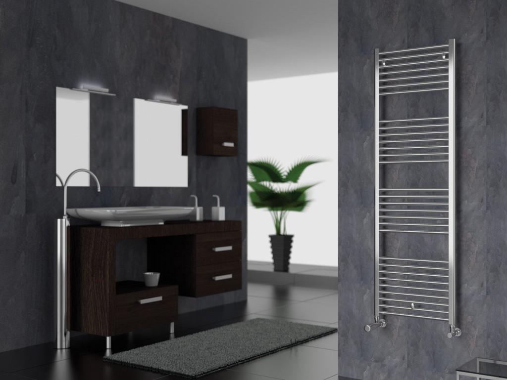 Riscaldare il bagno con design ed eleganza lartedinnovare - Scaldasalviette per cucina ...