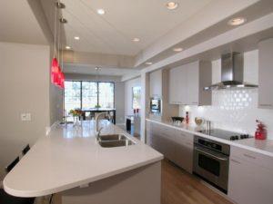 illuminazione in cucina