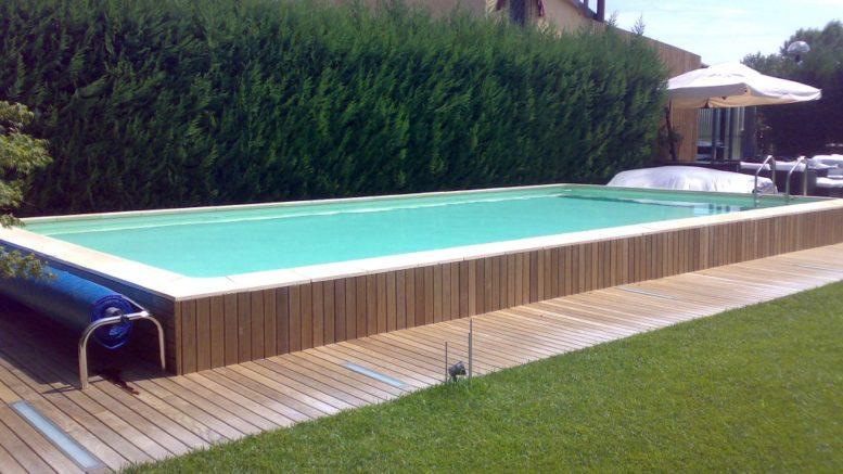Giardini con piscine fuori terra ur62 regardsdefemmes for Piscine fuori terra rivestite