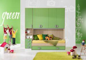 camerette per bambini colorate