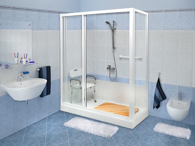 Vasca Da Bagno Per Allettati : Portale siva chinesport telo doccia vasche da bagno s