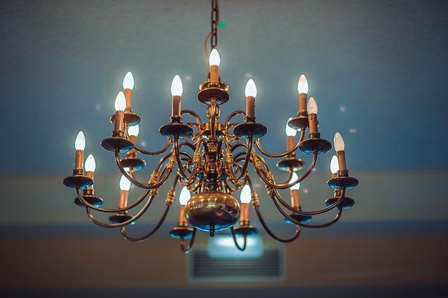 lampadario ferro battuto
